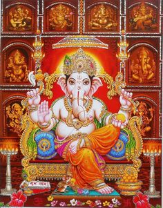 🌸🌸🌸🙏🏼🌸🌸🌸 Ganesh Chaturthi Photos, Happy Ganesh Chaturthi Images, Ganesh Lord, Shri Ganesh, Ganesha Art, Hanuman, Ganesha Pictures, Ganesh Images, Shree Ram Images