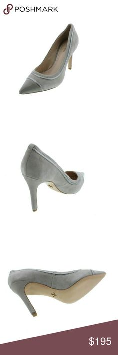 Pour La Victoire Nirvana Silver Pumps Heels 9.5 M Pour La Victoire Nirvana Silver Pumps Heels 9.5 M  Manufacturer: Pour La Victoire  Manufacturer Color: Dove/Silver Retail: $216.00 Condition: New with box Style Type: Pumps, Classics Collection: Pour La Victoire Heel Height: 4 1/4 Inches Platform Height: 0 Inches Closure: Slip On Material: Leather Fabric Type: Suede Specialty: Toe Cap Style Number: NIRVANA Pour la Victoire Shoes