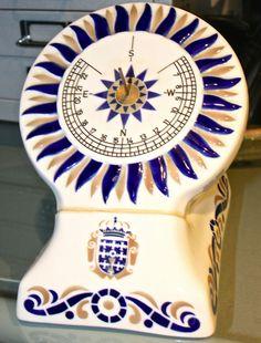 Sargadelos Porcelain Southern Exposre Sundial - Rare!!!! Sundial, Southern, Porcelain, Plates, Tableware, Ebay, Collection, Dish Sets, Licence Plates