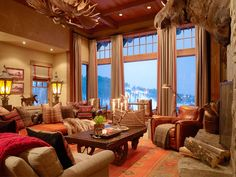Ken Fulk Design Lodge Livingroom