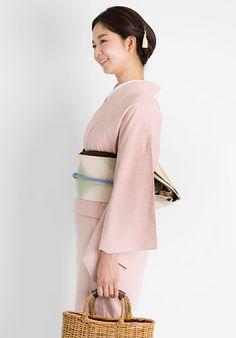 デニムきもの【灰桜】 #kimono #japan