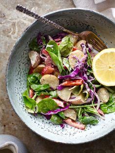 Veggie-Loaded Summer Potato Salad Jars from NITK