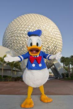 #Epcot Pato Donald