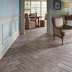 MARAZZI Montagna Rustic Bay 6 in. x 24 in. Glazed Porcelain Floor and Wall
