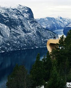 Norway's Aurland Lookout