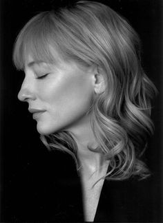 Cate Blanchett  by Andy Gotts.
