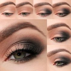 Lulus How-To: Sultry Smokey Eye Makeup Tutorial Looking to up your smokey eye game? For your next special occasion or night on the town, be sure to give our a Sultry Smokey Eye Makeup Tutorial a whirl! – Das schönste Make-up Smoky Eye Makeup, Eye Makeup Steps, Hooded Eye Makeup, Simple Eye Makeup, Natural Eye Makeup, Eyeshadow Makeup, Eyeshadow Palette, Simple Smokey Eye, Makeup Brushes