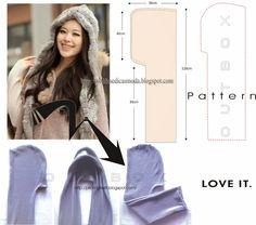 OUTBOX fashion@stuff: DIY hooded scarf