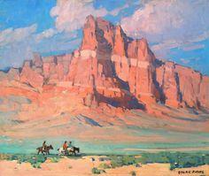 Edgar Payne Fine Art: Discover the Artwork of Edgar Payne Landscape Art, Landscape Paintings, Landscapes, Edgar Payne, American Impressionism, Southwestern Art, Mary Cassatt, Desert Art, Pierre Auguste Renoir