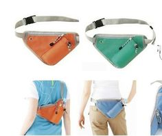 [S$10.17]hot sale New Triangle Water Bottle Fanny Pack multi-color Vest bag 2015