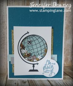 Back for another challenge over at Create With Connie & Mary ! This really is a GREAT group of talented stampers! I am so blessed to be a. Perpetual Birthday Calendar, Travel Cards, Stampin Up Catalog, Love Stamps, Shaker Cards, Graduation Cards, Catalogue, Masculine Cards, Stamping Up