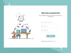 We think these login form examples and are absolutely stunning. Some are very detailed, and some are very minimalistic signup forms. Login Page Design, Website Design Layout, Web Design Tips, Dashboard Design, Dashboard App, Website Designs, Form Design, Material Design, Formulários Web