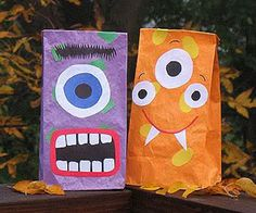 Halloween DIY: fun party goodie bags