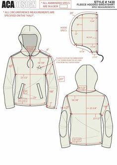 patrón de chaqueta
