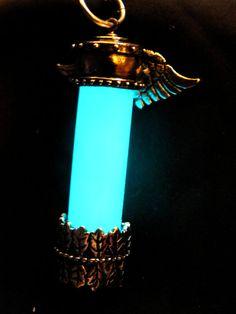 Glow in grazia soprannaturale collana pendente di the Dark Angel