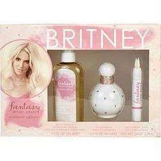 Fantasy Britney Spears By Britney Spears Eau De Parfum Spray 1.7 Oz & Dry Body Oil 4.2 Oz & Solid Perfume Pencil .10 Oz Mini (intimate Edition)