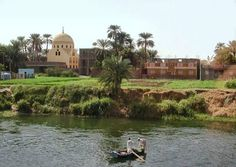 Countryside , at the Nile river , Egypt