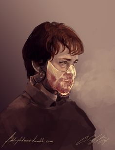 """By drawingfixx  """"Hannibal did this to me..."""""""