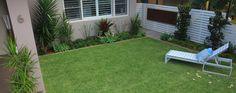 Modern garden furniture in a Cronulla garden design