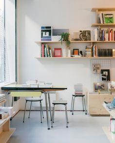 La Régulière, Bookstore In North Paris: 43 Rue Myrha 75018 Furniture Design  By Johanna