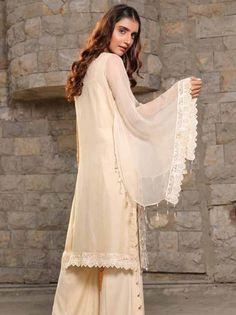 Stuff Embroidered Crinkle Chiffon Front 1 M Crinkle Chiffon Back 1 M Embroidered Neckline Patch 1 Pc Embroidered Patch For Front & Back 2 M Crinkle Chiffon Sleeves M Sleevs Embroidered Patch 1 M Embroidered Crinkle Chiffon Dupatta M Dyed Silk Trouser M Punjabi Suits, Salwar Suits, Pakistani Salwar Kameez, 3 Piece Suits, Designer Wear, Chiffon, Silk, Luxury, How To Wear