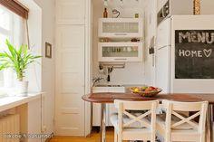 Pienen kodin keittiö