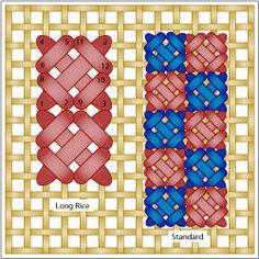 Small Needlepoint Stitches - Crossed Stitches