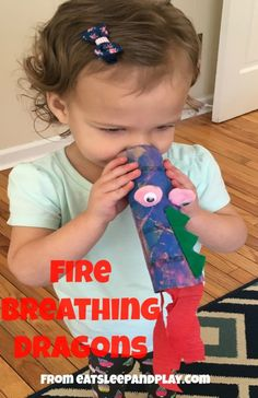 Dragons love tacos activities- make a fire breathing dragon!