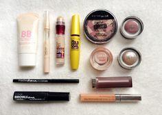Tutorial Usando Apenas Maybelline   New in Makeup