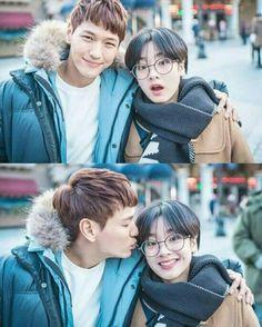 "Love is in the Air in ""Weightlifting Fairy Kim Bok Joo"" Seon Ok × Taek Won yiz Weightlifting Fairy Kim Bok Joo Swag, Weightlifting Fairy Kim Bok Joo Wallpapers, Swag Couples, Cute Couples, Seon Ok, Weighlifting Fairy Kim Bok Joo, Nam Joo Hyuk Lee Sung Kyung, My Shy Boss, Joon Hyung"