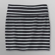 Dream Out Loud by Selena Gomez Junior's Bodycon Striped Skirt