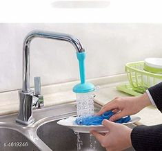 Taps & Fittings 360 Degree Water Saving Faucet Adjustable Material: Plastic  Size(L x B x H): 12 cm x 3 cm x 3 cm  Description: It Has 1 Piece Of Water Faucet Country of Origin: India Sizes Available: Free Size   Catalog Rating: ★4 (1411)  Catalog Name: Assorted Needy Water Faucets Vol 4 CatalogID_669507 C140-SC1692 Code: 571-4619246-