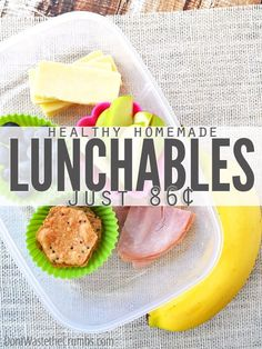 More like fun-chables, am I right? Here's how to make what all the cool kids were eating at lunchtime.