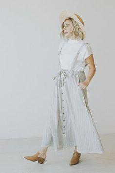 The Nya Overall Skirt