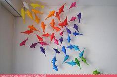 cute kawaii stuff - Origami Fish Pond