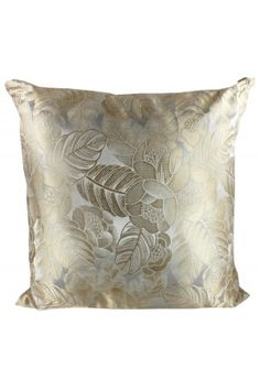 Lynda Arnold Floral Silk Bliss Throw Pillow