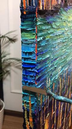 Texture Painting On Canvas, Palette Knife Painting, Painting Edges, Oil Painting Abstract, Watercolor Girl, Watercolor Art Lessons, Islamic Art Canvas, Oil Painting Techniques, Grand Canal