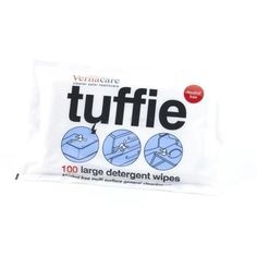 Tuffie® Detergent Wipes - Cleaning & Hygiene - First Aid Supplies