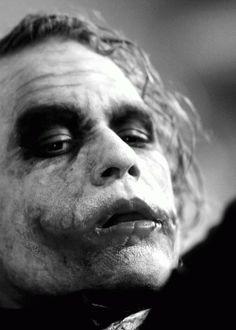 Action shot of Joker in The Dark Night
