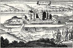 Tata metszete XVII.század