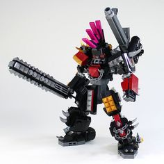 "When one hears the phrase ""LEGO mecha"", the name of the legendary Japanese builder Moko is probably one of the first that springs to mind. While he was one of the builders to define the genre, he still continiues to progress it, as is the case with his latest mecha, MFS-11 MAD Garm. After over …"