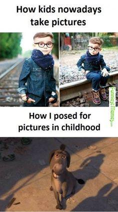 Kids Photos Then .vs. Now