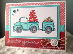 Stampin Up Loads of Love by rutabagapie - Cards and Paper Crafts at Splitcoaststampers