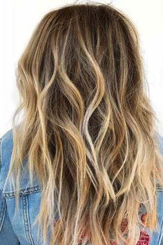 21 Trending Balayage Hair Ideas To Try This Season - Healthy Blab Long Wavy Hair, Girl Short Hair, Dark Hair, Balayage Long Hair, Blonde Balayage, Medium Hair Styles, Short Hair Styles, Little Girl Haircuts, Hair Looks