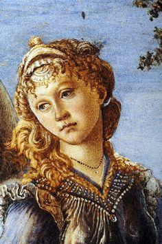 Sandro Botticelli - Renaissance - Le retour de Judith, detail - 1470