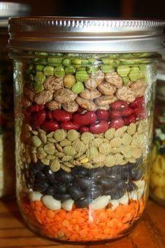 Bean Soup Mix in a Jar