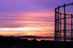 Sunset over Granton (Gareth Watkins)