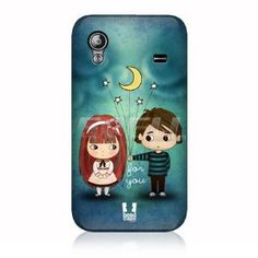 e_cell - Head Case Give You The Moon and Stars Cute Emo Love Back Case for Nokia for Nokia Asha 300 Emo Love, Cute Emo, Nokia Asha 300, Laptop Camera, Galaxy Ace, Stars And Moon, Protective Cases, Ipod, Sims