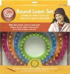 A Boye Round Loom Set-