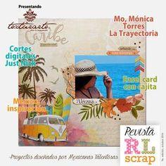 Revista RL Scrap Novena Edición  Proyectos diseñados por Mexicanas Talentosas